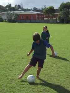 Soccer skills day 1 009