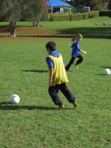 Soccer skills day 1 010