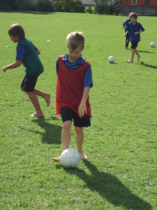 Soccer skills day 1 016