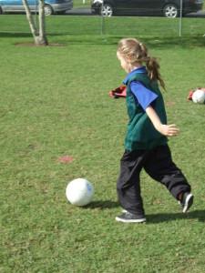 Soccer skills day 1 022