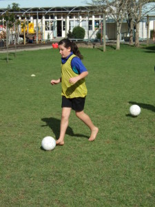 Soccer skills day 1 025
