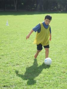 Soccer skills day 1 029
