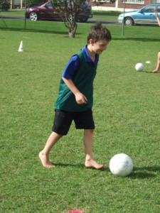 Soccer skills day 1 034