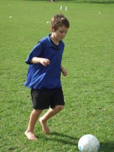Soccer skills day 1 037