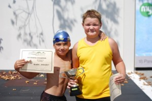 Luke - 10 yr champion Brodie - runner up
