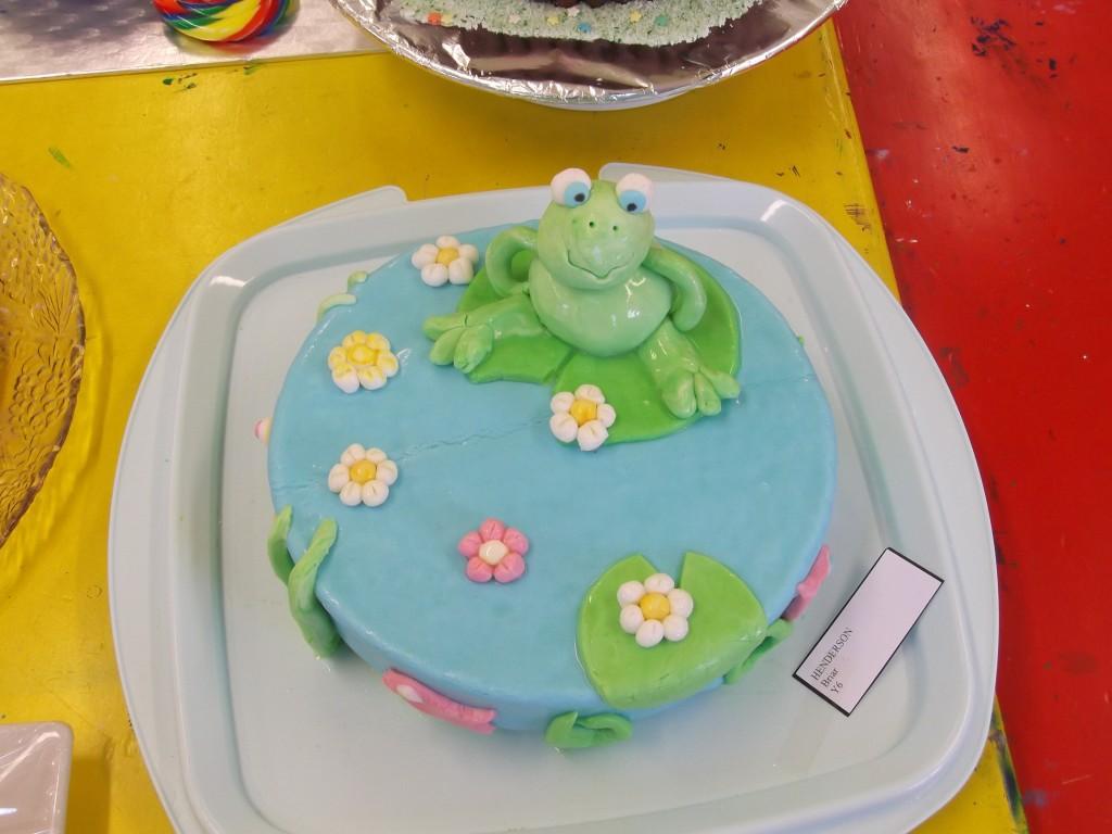 Show Day - Senior Cakes