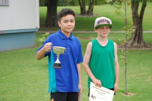 8 Year old boys  Champion - Creedence Runner up - Ashley