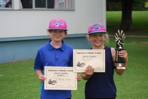 9 Year old girls  Champion - Anya Runner up - Brooke