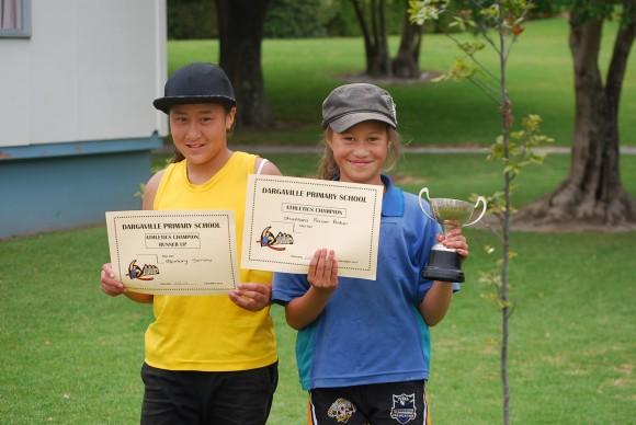 10 Year old girls  Champion - Shamaea Runner up - Memory