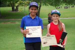 11 Year old girls  Champion - Francie Runner up - Lela