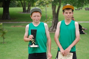 11 Year old boys  Champion - Lucas Runner up - Nathan