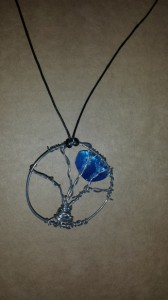 Brooke's Tree Necklace