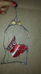 Courtney's Butterfly in a Cage
