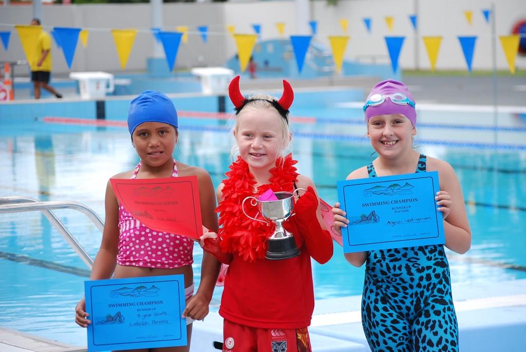 Swimming Sports 2015 - Champions