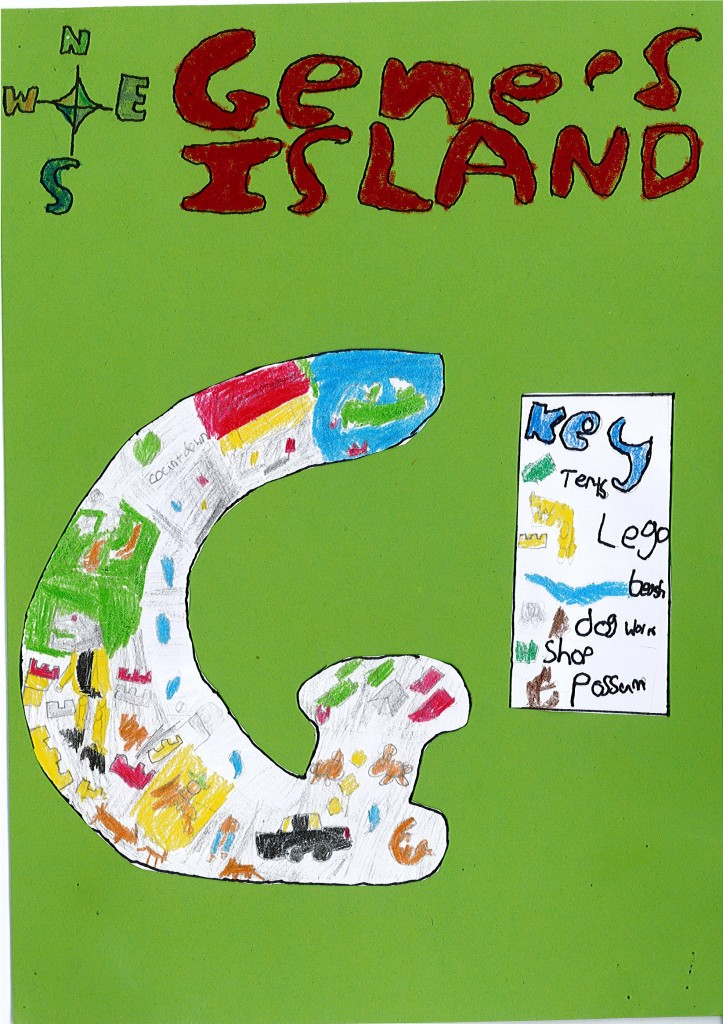 room 7 islands are based on what we did in the holidays and what we like to do and what our favourite things are