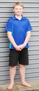 School Boy with mole