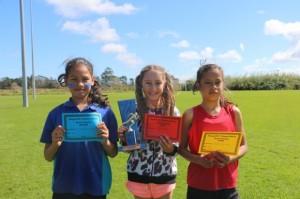 10 year Girls Te Wai, Lydia, Ataleea